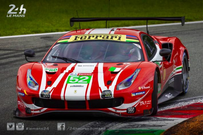 Ferrari announces third 488 GTE to take the start at Le Mans for AF Corse