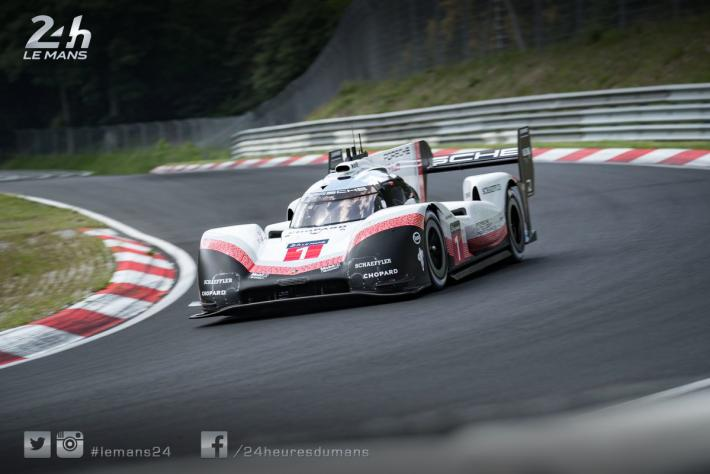 Porsche toasts the new record set by the 919 Hybrid Evo at the Nürburgring (video)