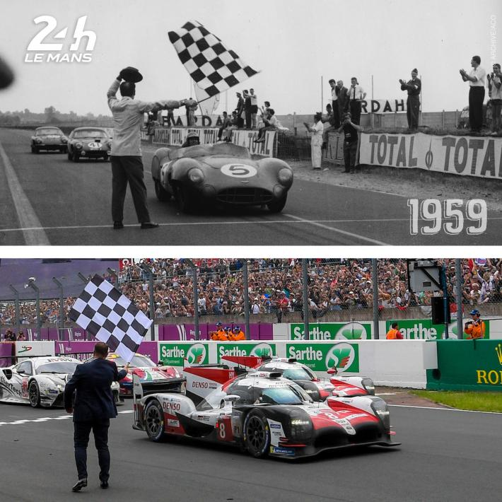 Six snapshots from the 24 Hours of Le Mans through the years (4)