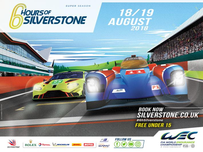 34-car grid for Silverstone following Ginetta LMP1 withdrawal