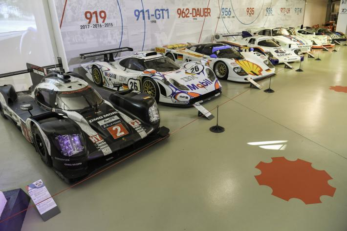 Porsche in the spotlight at the 24 Hours Museum