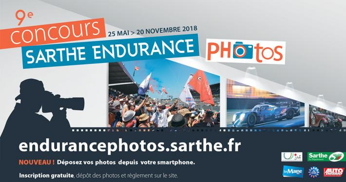 Wanting to enter the Sarthe Endurance Photos competition? Be quick!