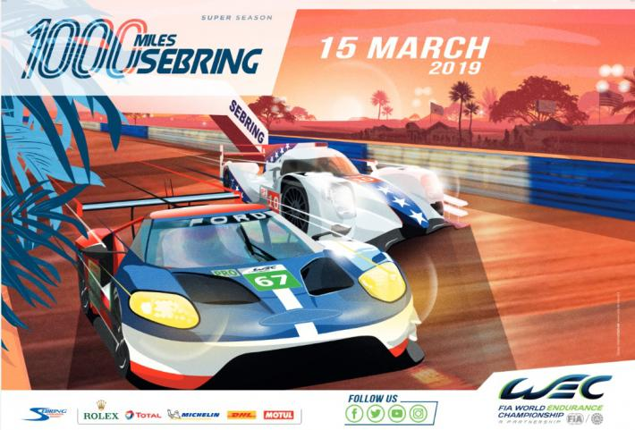 FIA WEC : 100 days to go for before the 1,000 Miles of Sebring