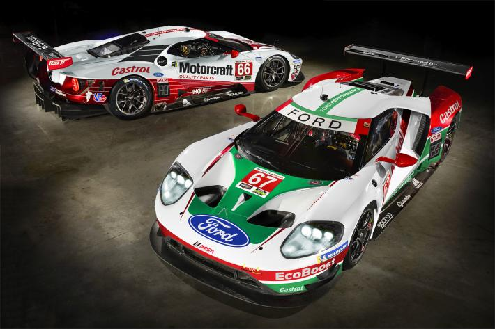 IMSA – A special livery for Ford Chip Ganassi Racing at the Rolex 24 at Daytona