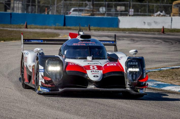 FIA WEC – Toyota Gazoo Racing gets to grips with Sebring International Raceway