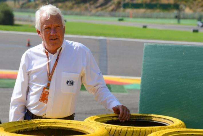 The ACO pays tribute to Charlie Whiting