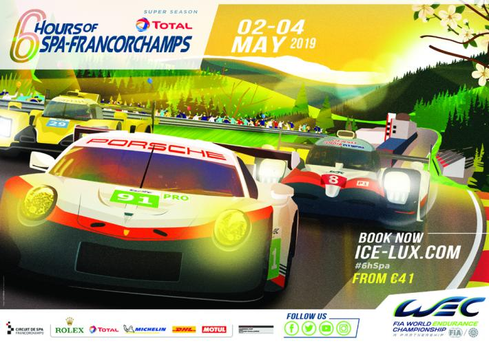 FIA WEC – Total 6 Hours of Spa-Francorchamps provisional entry list