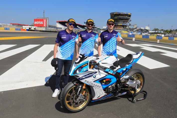 24H Motos Pole Position – Team ERC – BMW Motorrad Endurance #6 BMW poised to lead Saturday's grid