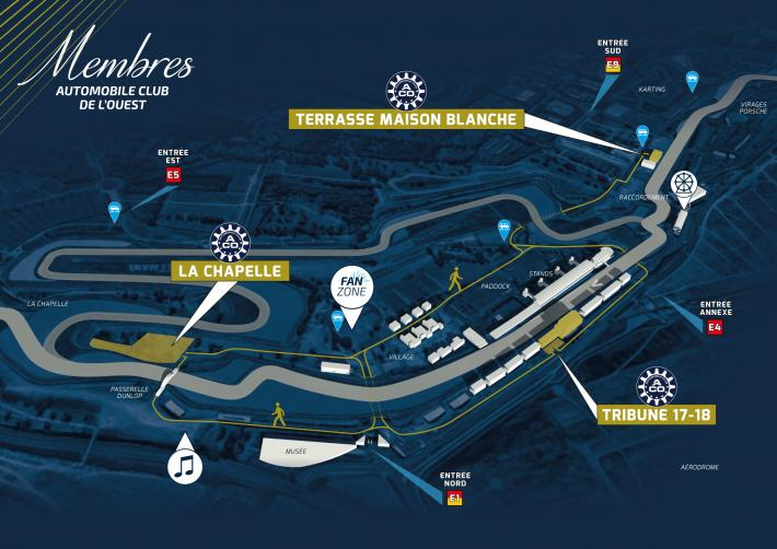 Club ACO – 24 Hours of Le Mans: Members' Guide for Wednesday 12 June