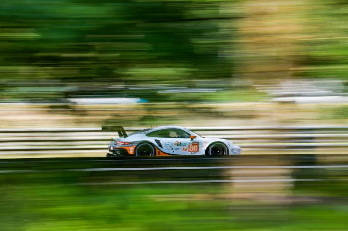 The 2019 24 Hours of Le Mans for Gulf Racing (LMGTE Am)