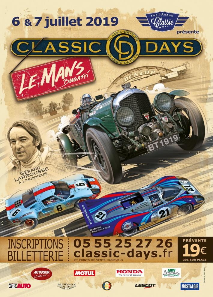 Club ACO welcomes members to Le Mans for Classic Days