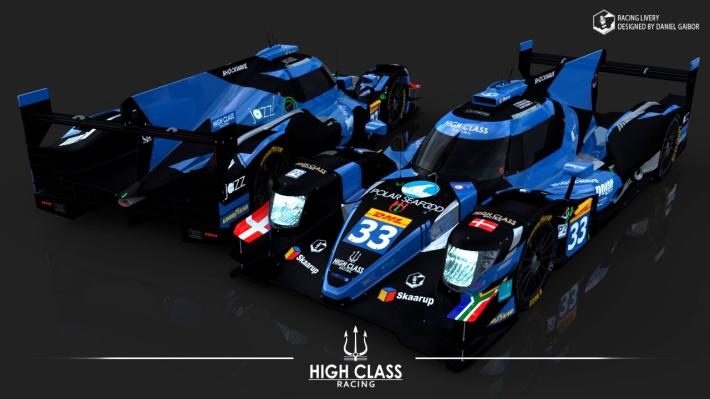 FIA WEC – A new livery for High Class Racing's ORECA 07-Gibson