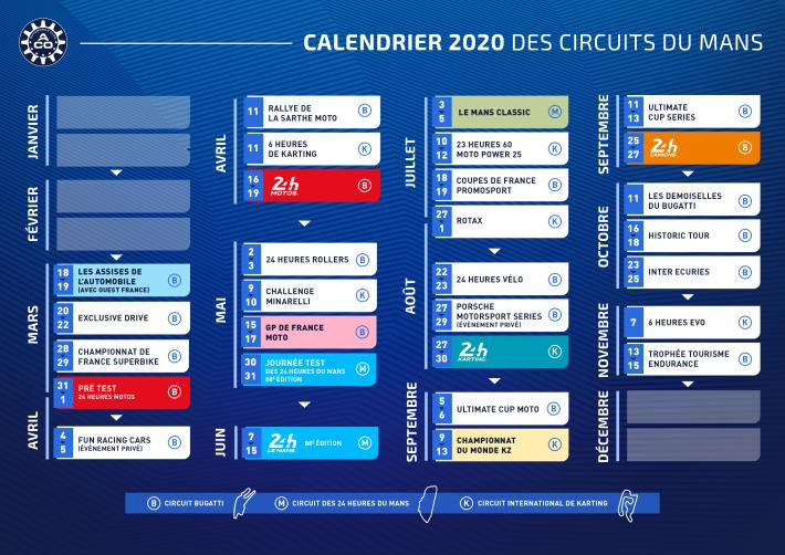 Calendrier Fun Car 2020.A Fantastic Upcoming 2020 Season At The Circuits In Le Mans