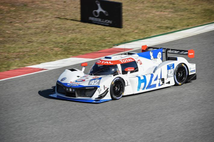 H24Racing's first laps at the Portimão circuit in the Michelin Le Mans Cup