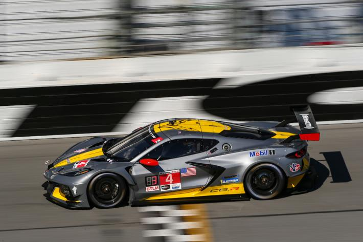 Les débuts officiels de la Corvette C8.R au Roar Before The 24