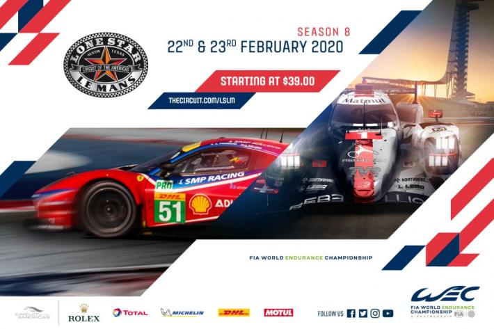 Fia Wec The Provisional Entry List For The 2020 Lone Star Le Mans