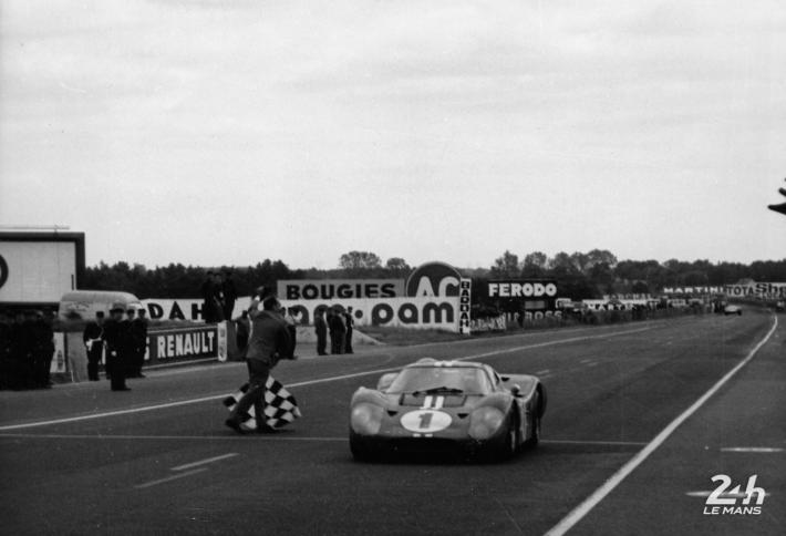Ford at Le Mans 1966-1969: from Flower Power to Woodstock (2/4)
