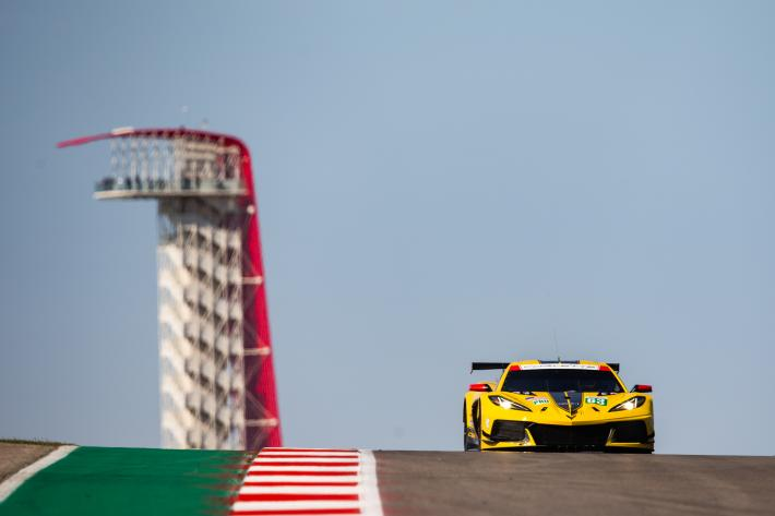 FIA WEC – La Corvette C8.R poursuit sa progression au Lone Star Le Mans
