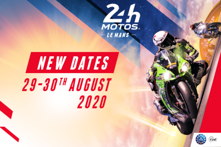 The 24 Hours Motos rescheduled on 29–30 August 2020