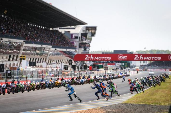 The 24 Hours Motos behind closed doors