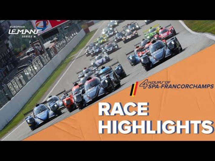ELMS – 4 Hours of Spa-Francorchamps Race Highlights
