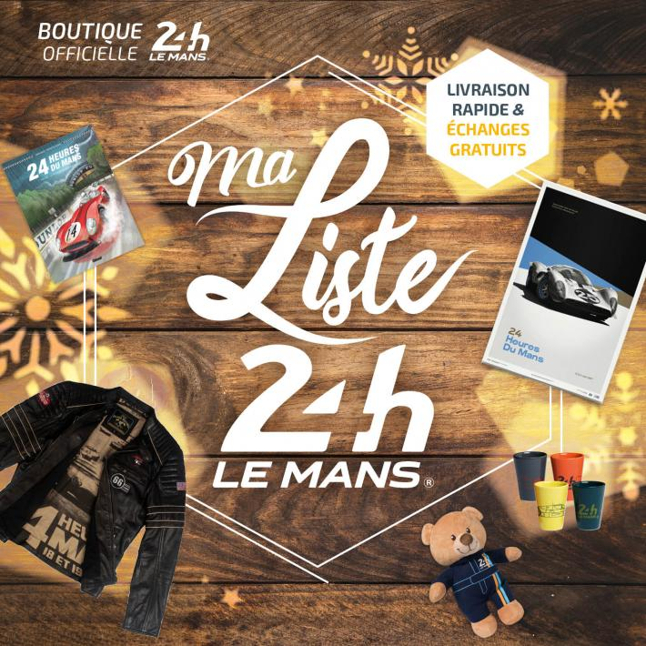 Visit the official 24 Hours of Le Mans store and write your Christmas wish-list!